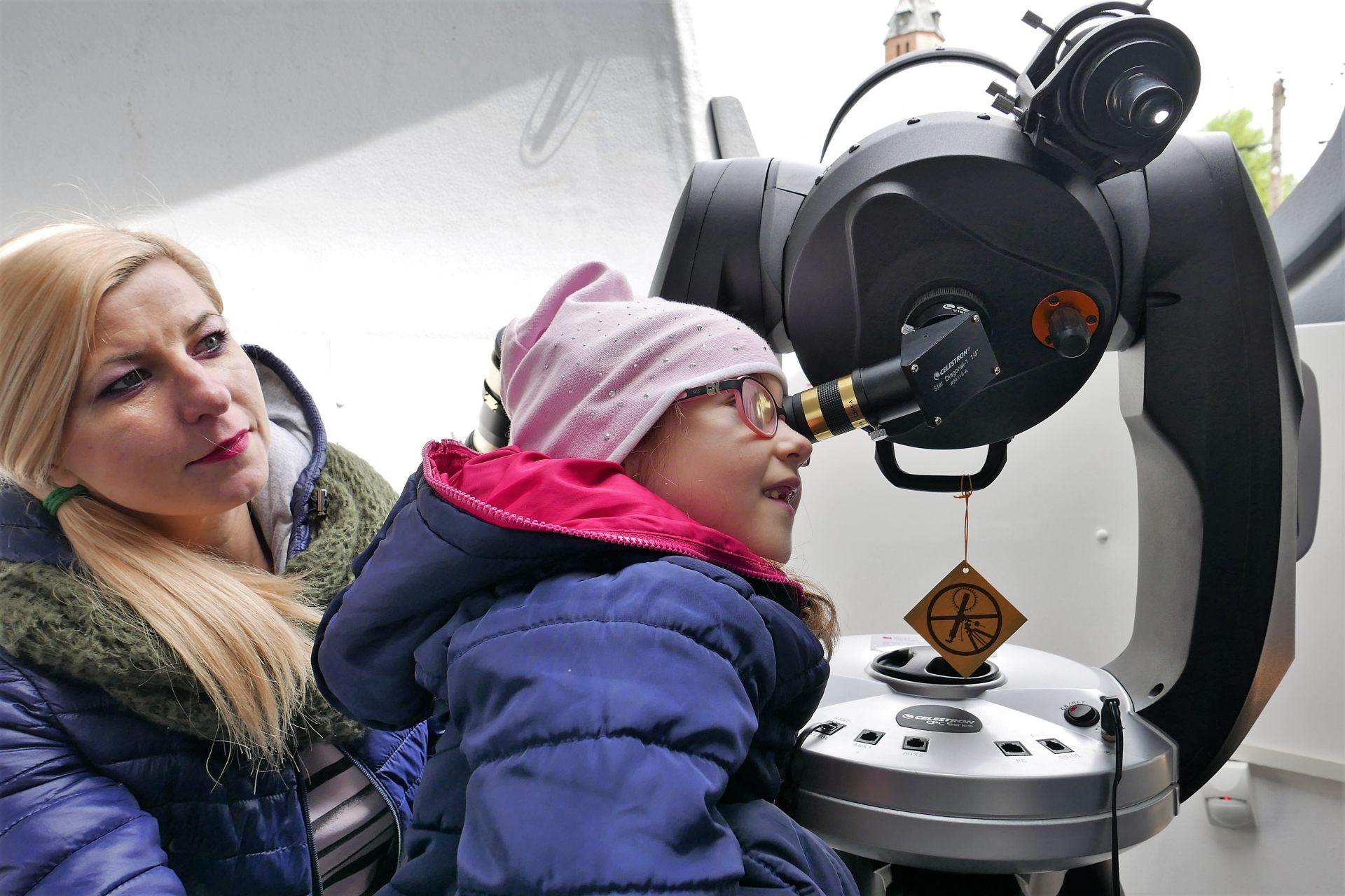 16/17 – Wizyta w obserwatorium astronomicznym w Trzeszczanach